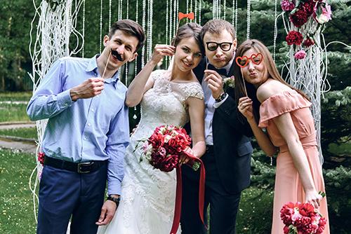 Props Wedding Photo